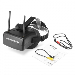 Masque FPV Eachine VR008 (double antenne)
