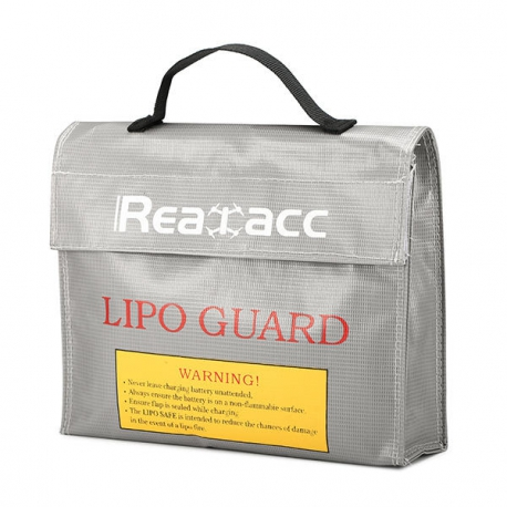 Sac batteries LIPO Realacc 240x180x65mm